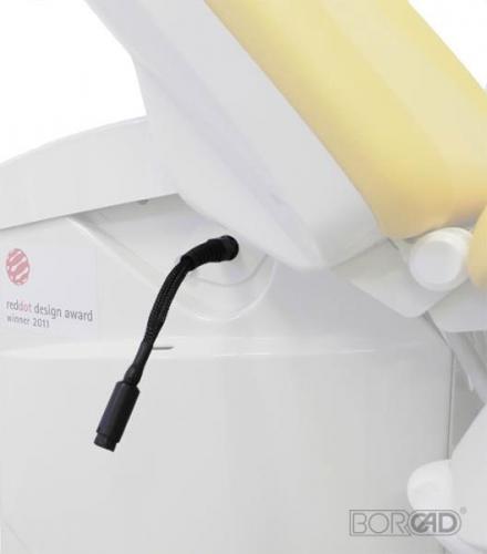 Видеокольпоскоп, встроенный в кресло
